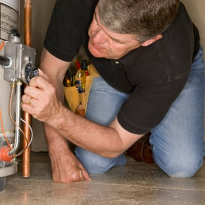 How to Clean a Hot Water Heater Burner
