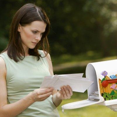 How to Attach a Mailbox to a Railing
