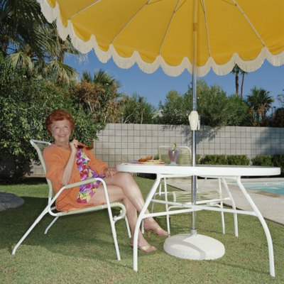 How to Stabilize a Garden Umbrella