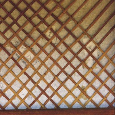 How to Secure Lattice Panels to a Chain Link