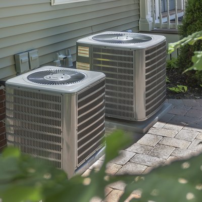 HVAC heating and air conditioning units
