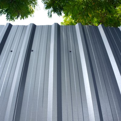 DIY Corrugated Metal Siding