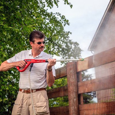 How to Safely Pressure-Wash Siding