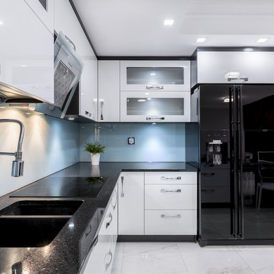 Elegant kitchen interior