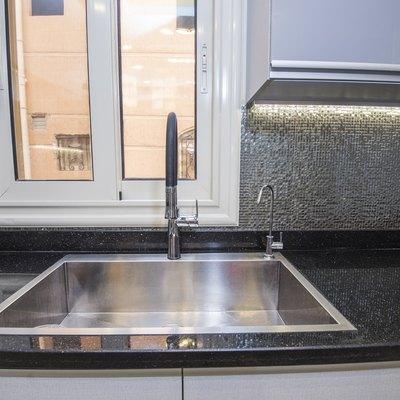 Composite Sinks vs. Stainless Steel