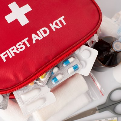 First-Aid kit with all essential elements