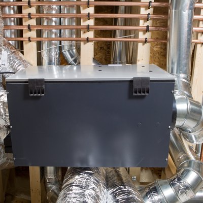 Residential Air Exchanger with Complex Duct Work