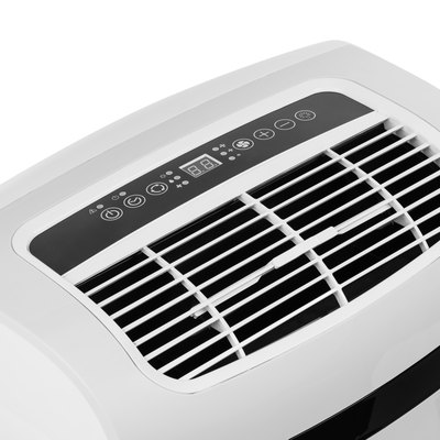 Portable air conditioner or dehumidifier isolated on white background