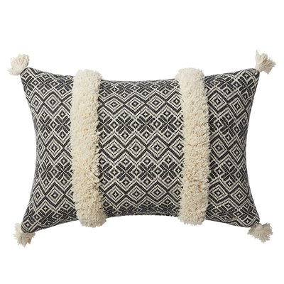 Better Homes and Gardens Jacquard Tufted Pillow