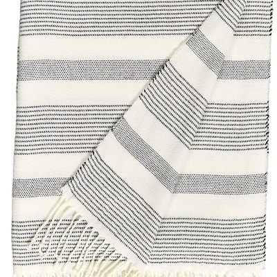 Stone & Beam Striped Throw Blanket