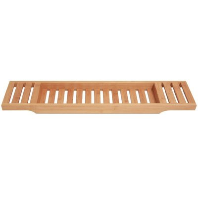 Rebrilliant Bamboo Bath Caddy