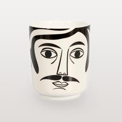 Mr. Hamilton Face Pot