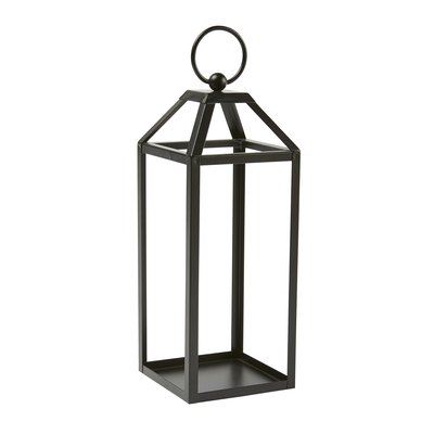 Mainstays Indoor/Outdoor Open Steel Lantern, Size Medium