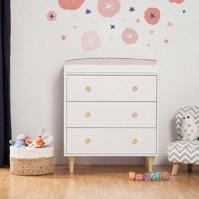 Lolly 3-Drawer Changer Dresser