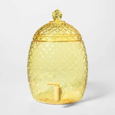 Plastic Pineapple Beverage Dispenser