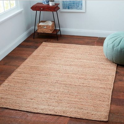 Home Fireside Jute Braided Rug