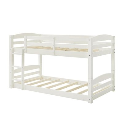 Bellmead Twin Over Twin Bunk Bed (White)