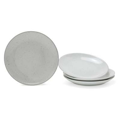 MoDRN Industrial Speckle Salad Plate Set