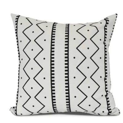 Bungalow Rose Lassiter Mudcloth Throw Pillow