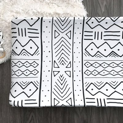 Mud Cloth Changing Pad Cover