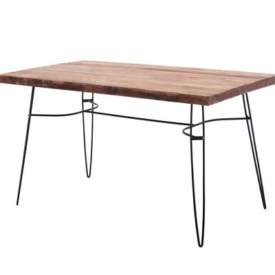 "Parkes 54"" Reclaimed Wood Dining Table/Desk"