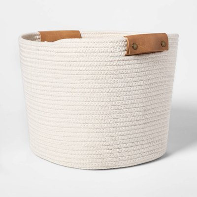 Threshold Coiled Rope Basket