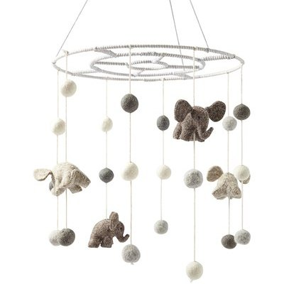 Felted Wool Animal Mobile
