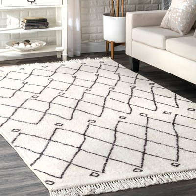 Simons Off White Area Rug