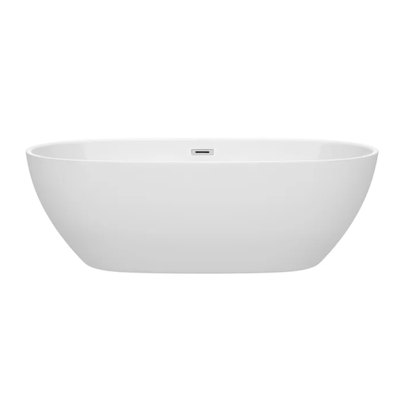 Wyndham Freestanding Soaking Bathtub