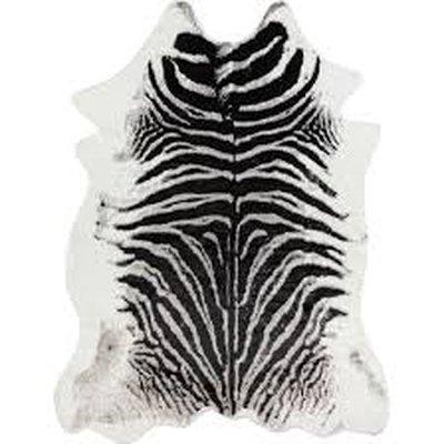 Acadia Zebra Black Area Rug