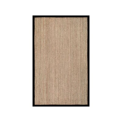 Black Seagrass Maui Area Rug