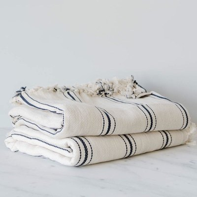 Turkish Striped Throw Blanket
