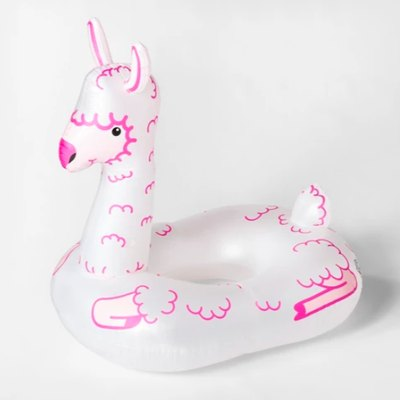 Giant Llama Pool Float White