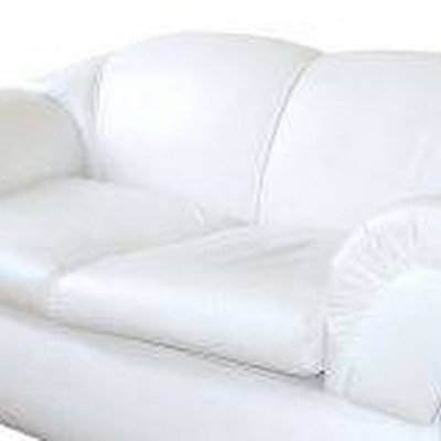 How to Clean a White Sofa
