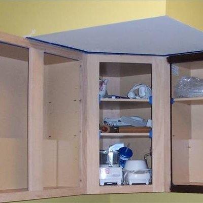 How to Refinish Kitchen Merillat Cupboards