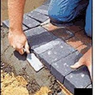 How to Install Concrete Paver Edging