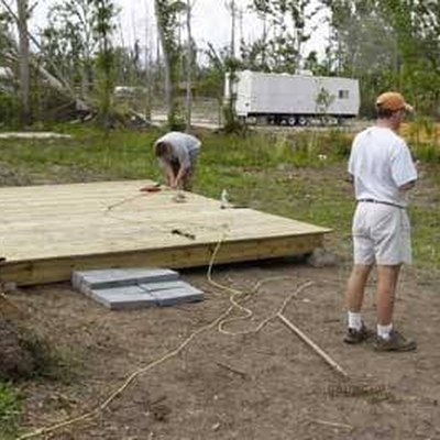 How to Build a 6' x 6' Deck