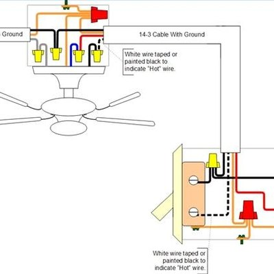 how to install a ceiling fan in a location without existing power rh hunker com
