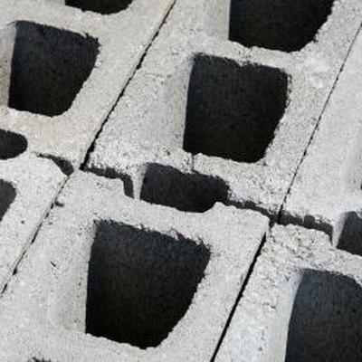 How to Build a Cement Block Garden Border