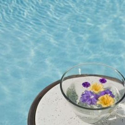 How to Color the Water in Your Pool