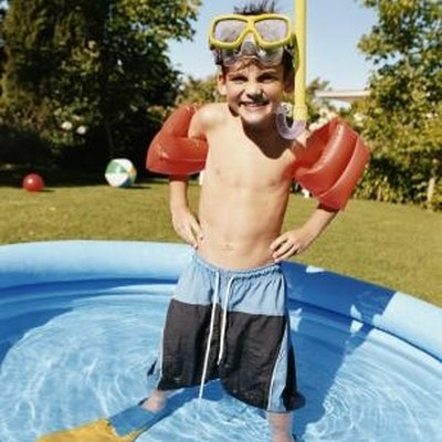 Is It Safe to Put a Child's Pool on the Deck?