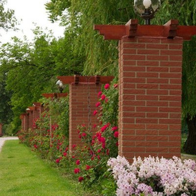 How to Build Brick Pillars