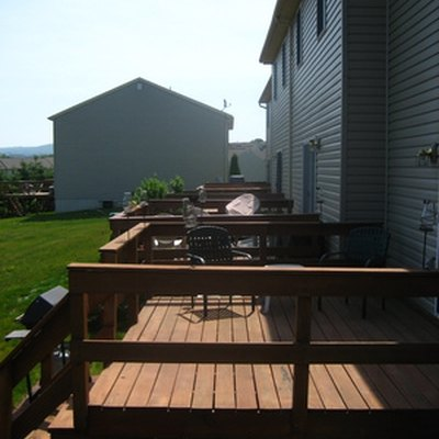 How to Reinforce Deck Railing Posts