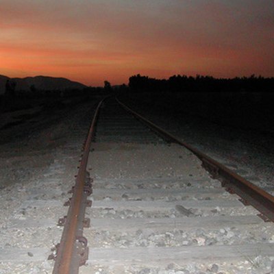How to Seal Creosote Treated Railroad Ties