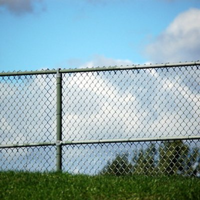 How to Make an Ugly Chain Link Fence Look Better