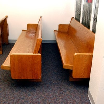 How to Clean Church Pews