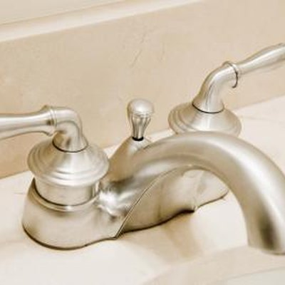 How to Remove Corrosion on Bathroom Faucets