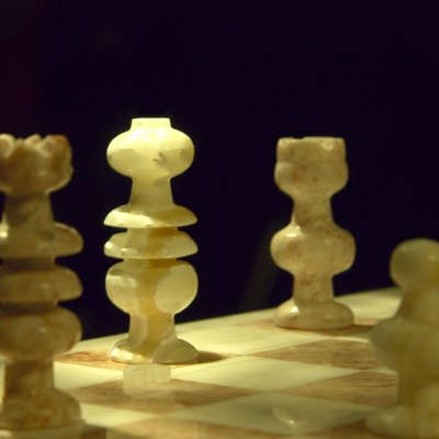 How to Make a Chess Set Out of Stone