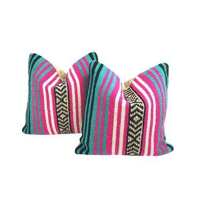 Mexican Serape Throw Pillows