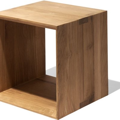 Closed Cube Side Table